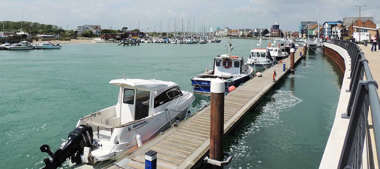 Littlehampton boat pontoon