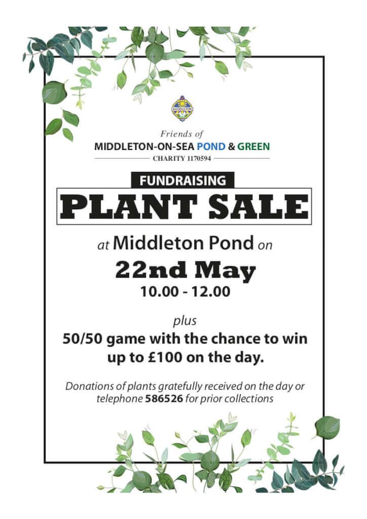 Plant Sale Middleton Pond