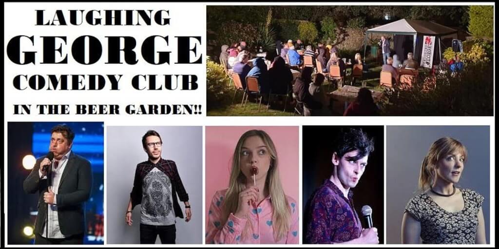 LAUGHING GEORGE COMEDY CLUB - GARDEN GIG