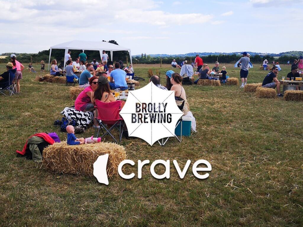 Crave Foods at the Brolly Beer Field