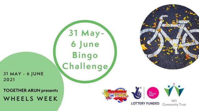 Wheels Week Bingo Challenge