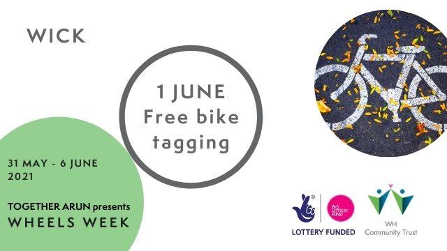 Wheels Week Bike Tagging