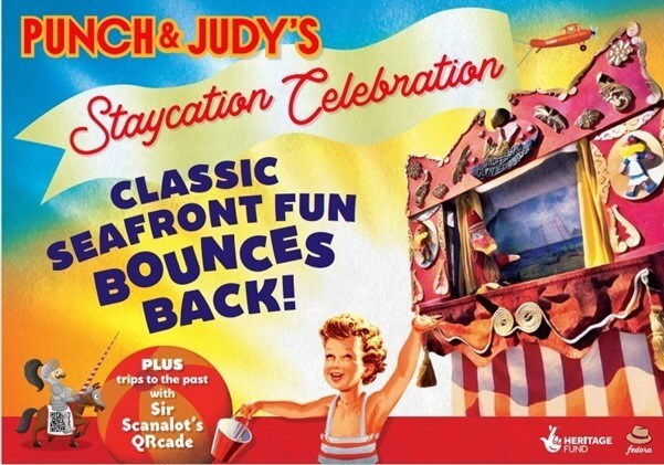 Love Local Arts Punch and Judys STAYCATION CELEBRATION