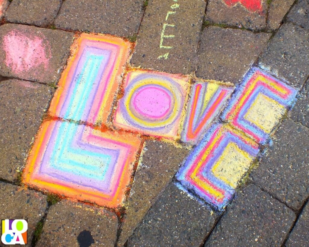 Love Local Arts The Chalk Experience LOCA