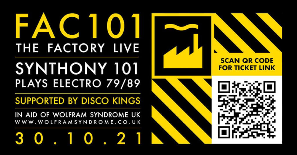 Fac101 with Synthony 101 in aid of Wolfram Syndrome UK