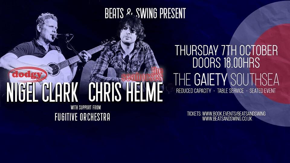 Beats & Swing present Nigel Clark & Chris Helme