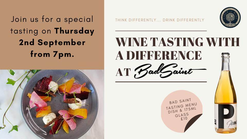 Wine Tasting with a Difference