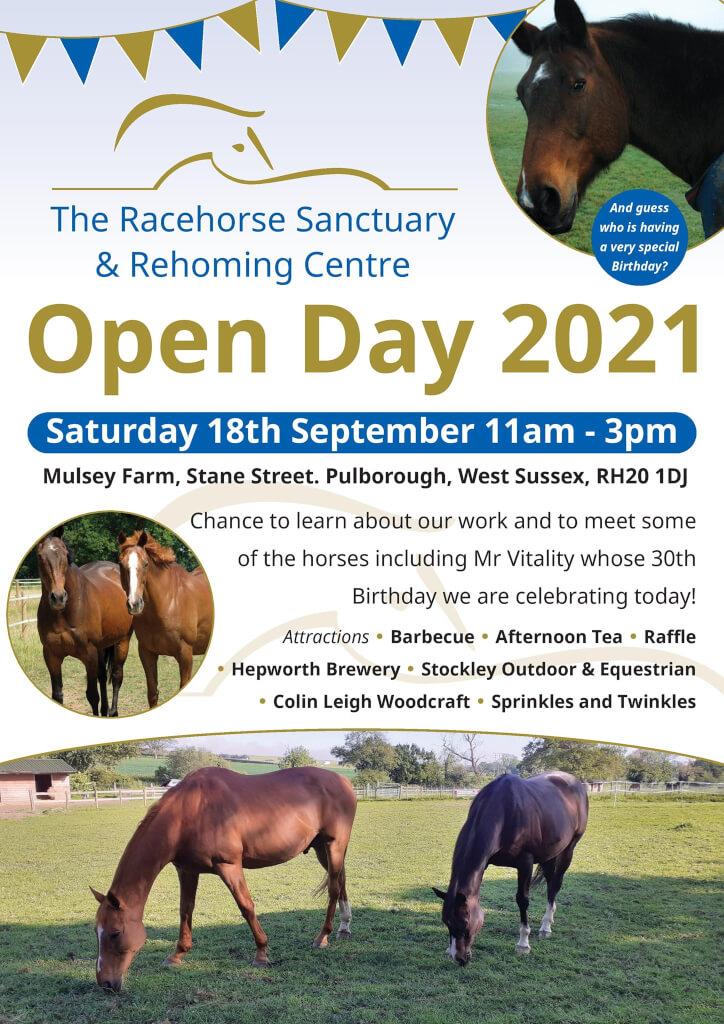 Racehorse Sanctuary Open Day