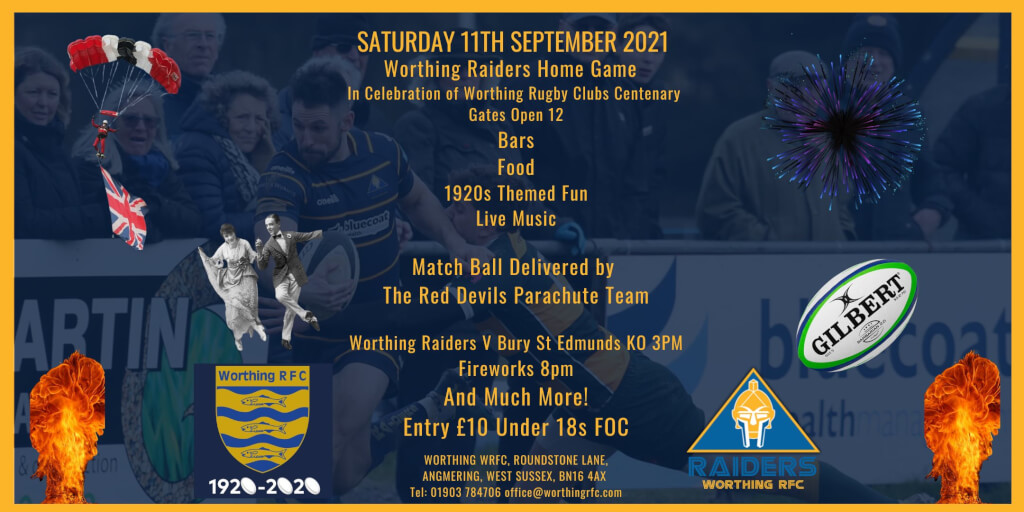 Worthing RFC Centenary Extravaganza