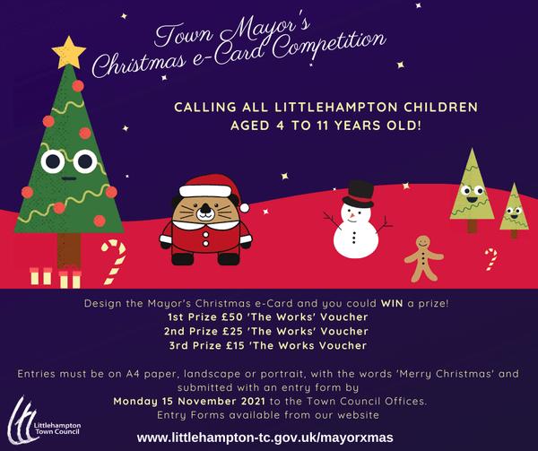 Mayor of Littlehampton Christmas e-Card Competition