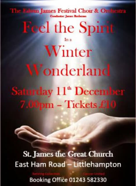 Edwin James Festival Choir- Feel the Spirit In a Winter Wonderland
