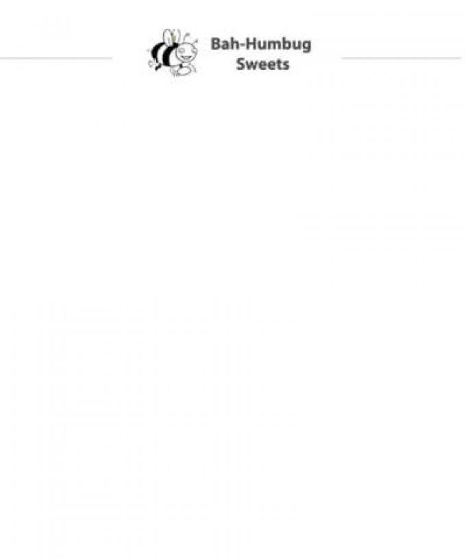 Bah-Humbug Sweets