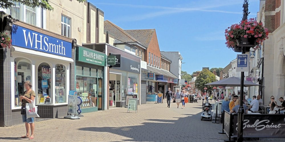 Town Centre Shops Closing