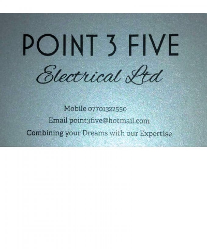 Point 3 Five Electrical