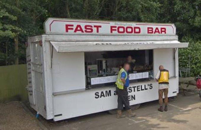 Sam and Stells Burger Van